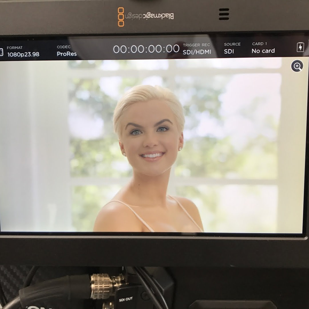 Read more about the article On set shooting a commercial for this new product called The Blooming…. yay! @…