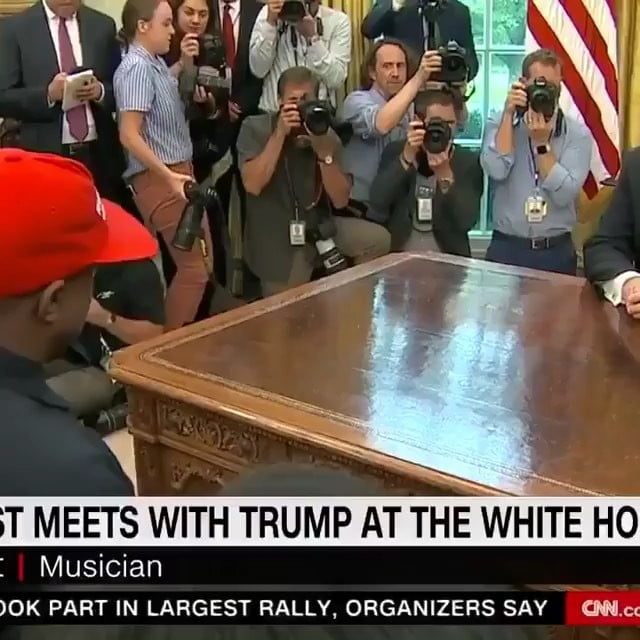 Read more about the article The only Kanye/Trump shit I'm tryna see any more today is somebody hacking his p…